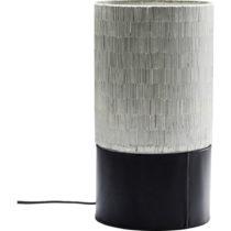 Čierna stolová lampa Kare Design Coachella, výška 28 cm