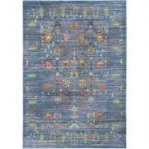 Modrý koberec Tatum Blue, 121×182 cm