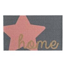 Sivo-ružová rohožka Zala Living Design Star Home Grey Pink, 50&#xA0...