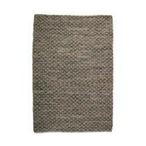 Hnedý koberec z kože a juty De Eekhoorn Twined, 240×...