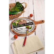Bambusový podnos Kutahya Special Foods, Ø 39 cm