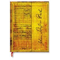 Linkovaný zápisník s tvrdou väzbou Paperblanks Bach, 18 x 23 cm
