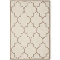 Béžový vlnený koberec Everly 91×15...