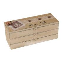 Drevený box Pour Elle