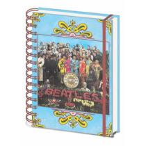 Linajkový zápisník A5 Pyramid International The Beatles Sgt. Pepper&#...