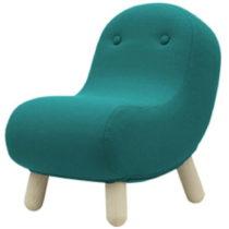 Tyrkysové kreslo Softline Bob Eco Cotton Turquoise