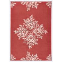 Červený koberec Hanse Home Gloria Blossom, 200 x 290 cm
