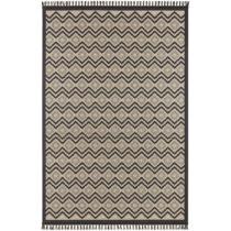 Béžovo-čierny koberec Hanse Home Intense Luro, 80×&a...
