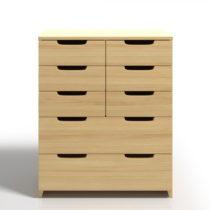 Komoda z borovicového dreva s 8 zásuvkami Skandica Spectrum