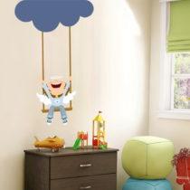 Nástenná samolepka Swinging On A Cloud