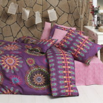 Obliečky s plachtou Hula Pink, 200×220cm