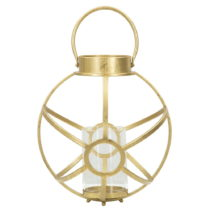 Svietnik v zlatej farbe Mauro Ferretti Astronomical