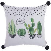 Obliečka na vankúš Apolena Hello Cactus, 43×&#xA...