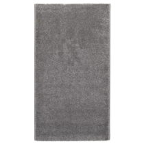 Sivý koberec Universal Velur, 57×110cm