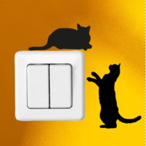 Sada 2 samolepiek Ambiance Cute Cats