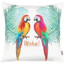 Obliečka na vankúš Apolena Parrots Talk, 43×&#xA...
