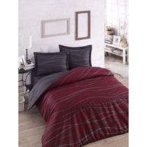 Set posteľného prádla s plachtou na dvojlôžko Claret,...