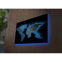 Podsvietený obraz Oliver, 70×45 cm