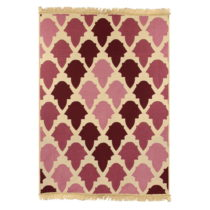 Červený koberec Ya Rugs Baklava Claret, 80×150&#...