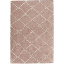 Ružový koberec Mint Rugs Allure Ronno Rose Creme, 80 x 150 cm