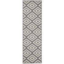 Sivo-biely behúň Hanse Home Jenny, 80×250 cm