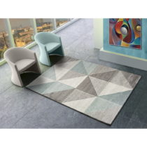 Modro-sivý koberec Universal Retudo Naia, 80×150 cm