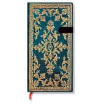 Linkovaný zápisník s tvrdou väzbou Paperblanks Metauro, 9,5 x 18...