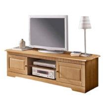 TV komoda z masívneho borovicového dreva Støraa Caroline