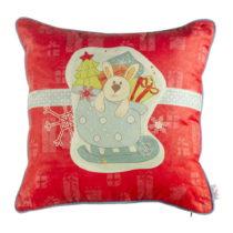 Vianočná obliečka na vankúš Apolena Comfort Gifts, 4...