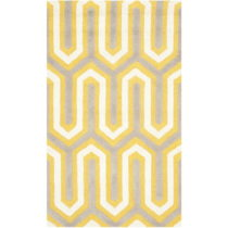 Vlnený koberec Leta, 91x152 cm
