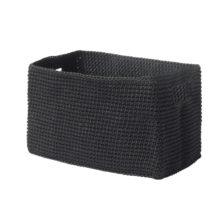 Čierny košík Zone Confetti, 14×22&#xA0...