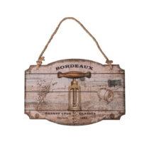 Drevená ceduľa Antic Line Bouchon