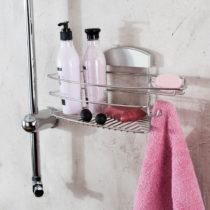 Stojan na sprchové gély bez nutnosti vŕtania Compactor Gél, 35x...