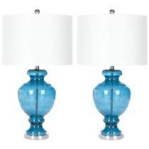 Sada 2 stolových lámp Safavieh Turquoise