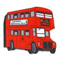 Červené nástenné svietidlo Glimte Sconce Arlet Bus Dos