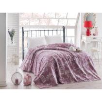 Fialová ľahká prikrývka cez posteľ Samyel, 200&#x...
