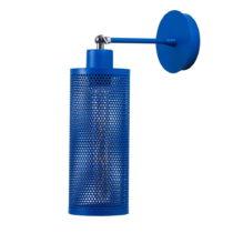 Modrá nástenná lampa Shade Wall
