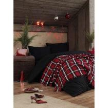 Ľahký pléd pres postel Irina Red, 200×240 c...
