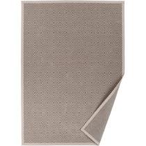 Béžový vzorovaný obojstranný koberec Narma Kalana, 160...