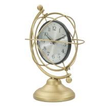 Stolové hodiny v zlatej farbe Mauro Ferretti Armamis