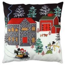 Vankúš Christmas Fun, 43x43 cm