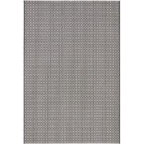 Čierno-biely koberec vhodný aj do exteriéru Meadow, 140&#x...