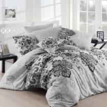 Sivé obliečky a plachta na dvojlôžko Luxury Grey, 200&#xA0...
