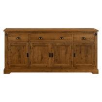 Drevená komoda s 3 zásuvkami Artemob Edward