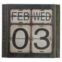 Zelený nástenný kalendár Geese Time