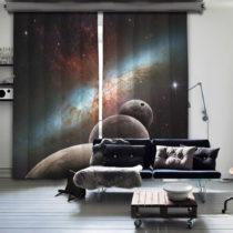 Sada 2 závesov Curtain Kesso, 140×260 cm