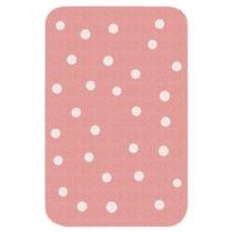 Detský ružový koberec Zala Living Dots, 67 × 120 cm