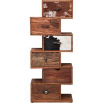 Komoda z palisandrového dreva s koženými detailmi Kare Design Rodeo Zick...