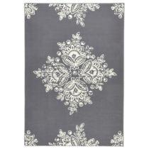 Sivo-biely koberec Schöngeist & Petersen Gloria Blossom, 120 × 170 cm