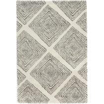 Krémovosivý koberec Mint Rugs Allure Grey Creme, 120 × 170 cm
